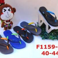harga Sandal Pria LUOFU Fashion Sandal Jepit Jelly F1159 Tokopedia.com