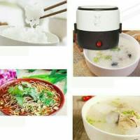 Jual Rice cooker mini/penanak nasi 2susun+Egg boiler dapur masak beras Murah