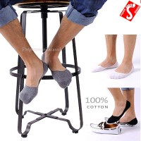 Kaos Kaki Pendek | Hidden Sock Pria Wanita Katun Sepatu Loafer Flat