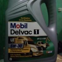Oli mobil delvac 1 LE 5w30 api cj4/sn fully synthetic
