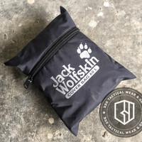 harga raincoat backpack jack wolfskin rain cover pelindung hujan tas 60L Tokopedia.com