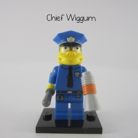 Lego Original Minifigure Chief Wiggum Simpsons Series 1