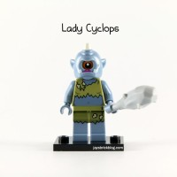 Lego Original Minifigure Lady Cyclops Series 13