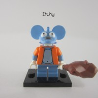 Lego Original Minifigure Itchy Simpsons Series 1