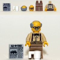 Lego Original Minifigure Grandpa Series 10