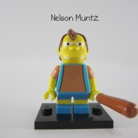 Lego Original Minifigure Nelson Muntz Simpsons Series 1
