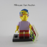 Lego Original Minifigure Milhouse Van Houten Simpsons Series 1