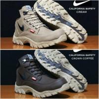 Jual Sepatu Pria Boots Nike Safety Steel Toe (Ujung Besi) Murah