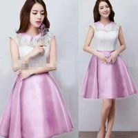 dress santana pink