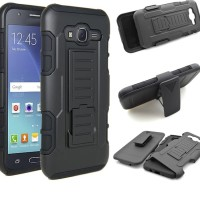 Case Belt Clip Samsung J3 2016 J310 Dompet/Sarung/Hp/Tas/Ikat Pinggang