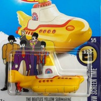 HOTWHEELS THE BEATLES YELLOW SUBMARINE 2016 (FIRST EDITION)
