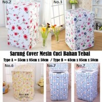 Jual Sarung Cover Mesin Cuci Bahan Tebal Murah