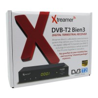 TV Digital Xtreamer BIEN 3 Set Top Box DVB-T2 And Media Player - Black