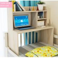 harga Best Mini Desk Meja Laptop, Belajar dan Rak Multifungsi Lesehan - Kayu Tokopedia.com