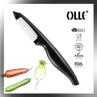 Olle Pisau Kupas Buah Professional bahan Ceramic (Peeler Blade)