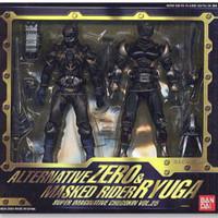 S.I.C Alternative & Kamen Rider Ryuga - BANDAI