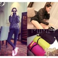 TSO1234-Black , import jacket, chiffon, hoodie, long sleeve, zipper,