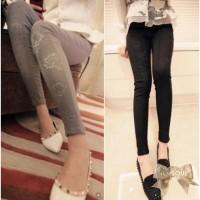 TSP1248-Black , import pants lace fit body, suitable for size S
