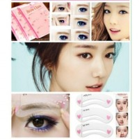 harga Alat Cetakan Alis Pencetak Pembentuk Eyebrow Class Eye Brow Template Tokopedia.com