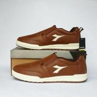 harga size 42 DISKON sepatu pria original DIADORA ALEXSANDRO brown murah Tokopedia.com
