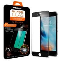Spigen Oleophobic Coated Tempered Glass FC Black for iPhone 6S