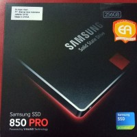 SSD Samsung 850 Pro 256 GB Garansi 10 Tahun 256GB