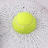 harga Stiker 3D Mobil Model Bola Tenis Hit Car Body - Green Tokopedia.com