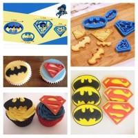 Cutter Batman Superman set 4