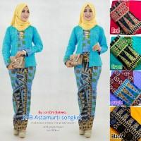batik wanita/ setelan rok n blouse/ batik kebaya/ asmaturi songket