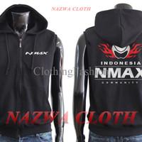 Vest Hoodie / Jaket Rompi 'ExclusiveYamaha NMAX Indonesia Community 2