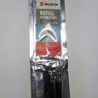 Refill Wiper Rubber Refil Karet Wiper Mobil Wurth Germany 24 inch 6 mm