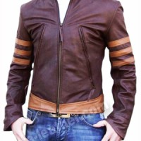 Jual baju pakaian Jaket Wolverine x man origins hitam cokelat murah terbaru Murah