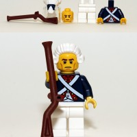 Lego Original Minifigure Revolutionary Soldier Series 10