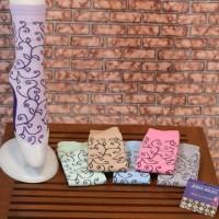 Jual Kaos kaki jempol motif batik Murah