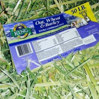 Oat Wheat & Barley Hay dari Alfalfa king, makanan kelinci & cavy dll