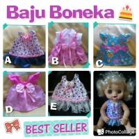 harga Baju boneka bisa untuk boneka TUTU dolls, Warm Baby, Baby Alive Tokopedia.com