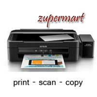 Printer Epson L360 (ganti L220) (Print,scan,copy) Speed lebih cepat.