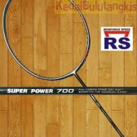 RAKET RS SUPER POWER 700 ORIGINAL ( FREE BONUS Lengkap )