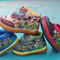 Jual Sepatu lampu nyala anak baby LIGHT SHOES BEN10 BOOT children LED murah Murah