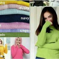 harga round hand sweater Tokopedia.com