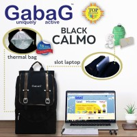 harga Gabag Calmo Black-Stylish Cooler Bag Free 2 Ice Gel Tokopedia.com