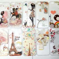 CASE CASING HP LENOVO K5 PLUS K5 blink DIAMOND FAIRY ART
