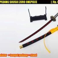 harga miniatur pedang shusui miniatur pedang katana gonzo bandung Tokopedia.com