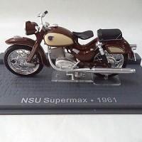 Motor Classic NSU Supermax 1961 Diecast Miniatur IXO 1/24