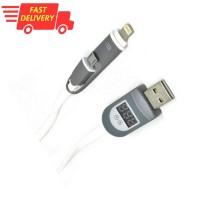 Kabel USB, Kabel 2 In 1, Kabel Data 2 In 1 Bukan Kabel Data Doraemon