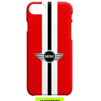 case Samsung Galaxy S6 Mini Cooper Stripe Logo Red casing cover hard