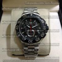 Jam Tangan Tag Heuer Formula 1 Chronograph Silver Black