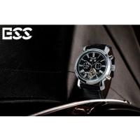ESS Luxury Men Leather Strap Automatic Mechanical Watch Berkualitas