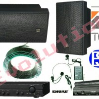 Paket Sound System TOA ZS 1030 Indoor