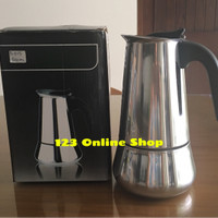 harga Moka Pot / Espresso Pot / Espresso Coffee Maker (9cups/900ml) Tokopedia.com